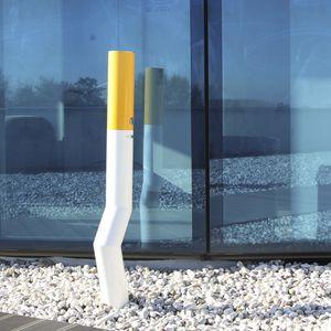 スタンド灰皿 / ステンレススチール製 / 屋外使用 / 公共スペース用