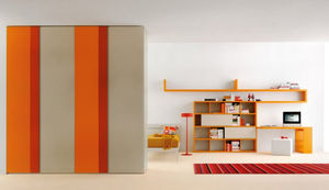 オレンジ子供部屋 / 男女兼用