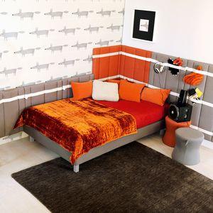 オレンジ子供部屋 / グレー / 木製 / 男女兼用