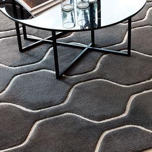 コンテンポラリー絨毯 / 柄 / ウール / 長方形