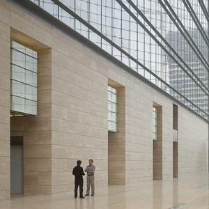 天然石製板石 / ブラッシング仕上げ / 建物の正面用 / 外壁カバー