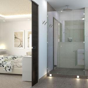 室内ドア / スライド式 / 木製 / 無釉