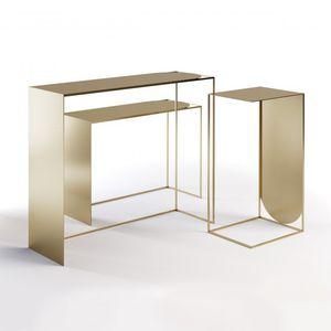 テーブル展示用ラック / スチール製 / 美容院
