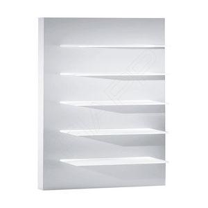 壁掛け式展示用ラック / 美容製品 / 木製 / 店用