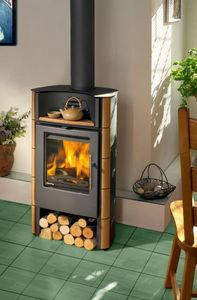木材用ストーブ / 鋳鉄 / コンテンポラリー
