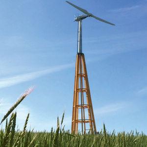 平行軸小型風力タービン