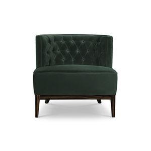 伝統的なデザインの安楽椅子