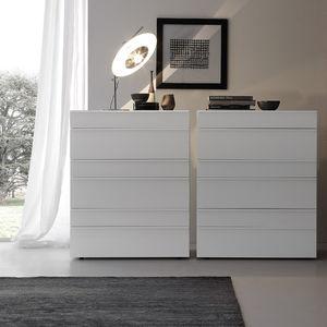 コンテンポラリーシフォニエ / 漆木材 / 光沢のある漆塗りを施した木製 / 白