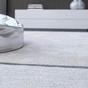 コンテンポラリー絨毯 / 縞模様 / ウール / 絹製