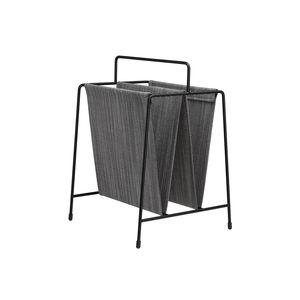 コンテンポラリーマガジンラック / 家庭用 / 被覆鋼粉 / 布製