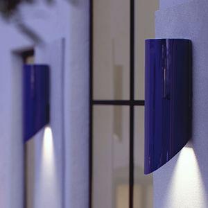 コンテンポラリー壁面ライト / 屋外用 / 磁器 / LED