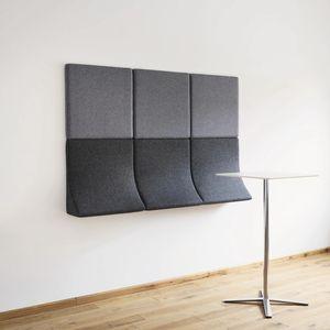 モジュール式布張りベンチ / オリジナルデザイン / 布製 / エステサロン