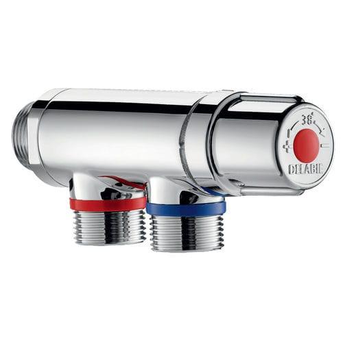 洗面器用混合栓 / クロム真鍮製 / サーモスタット / 屋内用