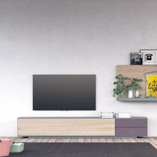 コンテンポラリーテレビキャビネット / ローボード / 木製