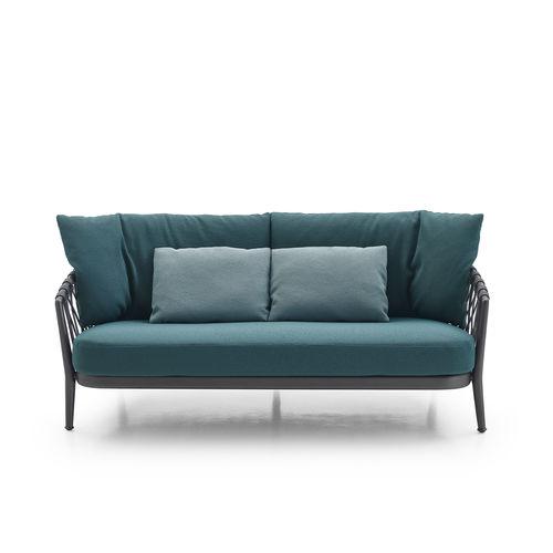 コンテンポラリーソファー / ガーデン用 / 布製 / 合成繊維