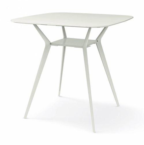 コンテンポラリーバーテーブル / MDF / 鋳造アルミ製 / 四角形