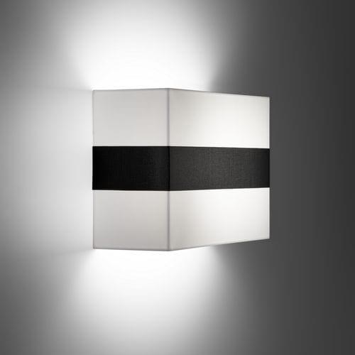 コンテンポラリー壁面ライト / 金属製 / 布製 / LED