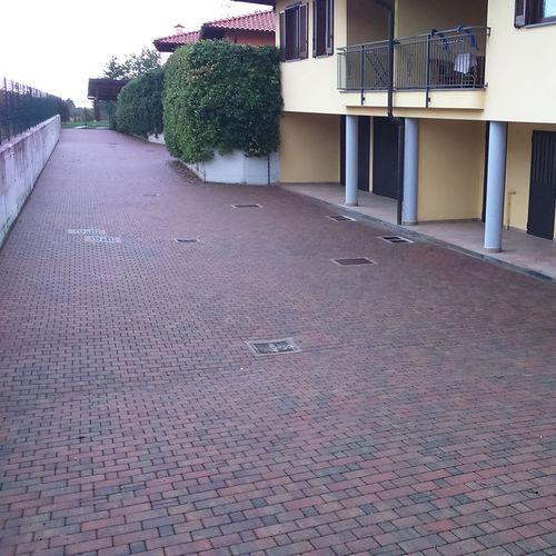 コンクリート製敷石 / 歩行者用 / 公共スペース用 / モジュラー