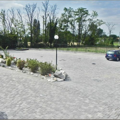 コンクリート製敷石 / 車の通れる / オールド / 屋外用