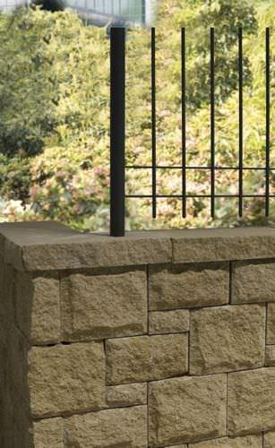 フルコンクリートブロック / 擁壁用 / ガーデンフェンス用 / 石材風
