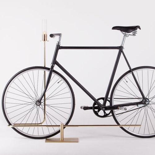 金属製自転車ラック
