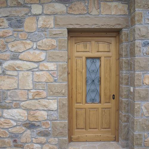 天然石製ウォールクラッディング / 砂岩製 / 外側 / テクスチュア