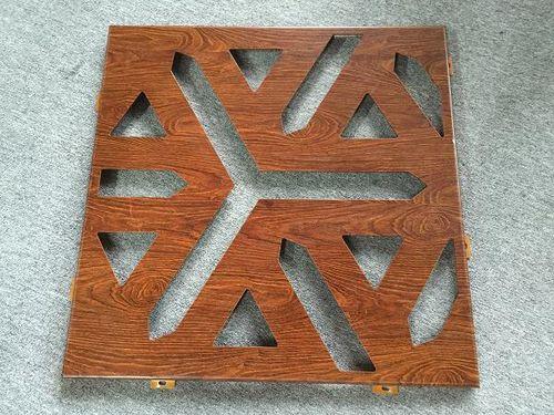 アルミニウム製装飾パネル / 屋外用 / 穴あき