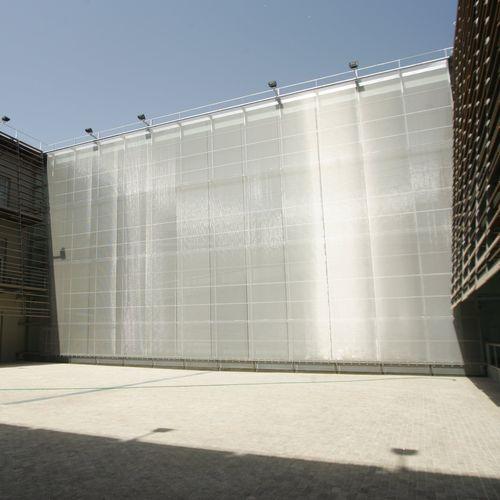 建物の正面用ワイヤーメッシュ / 壁用 / 天井用 / 日射遮蔽用