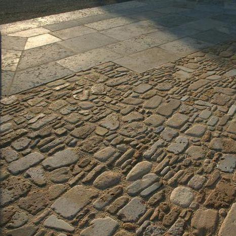 石製舗装 / 滑り止め / 歩行者用 / 車の通れる