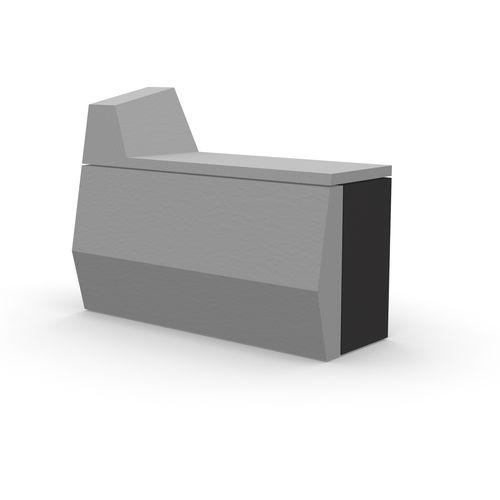 モジュール式受付カウンター / メラミン製