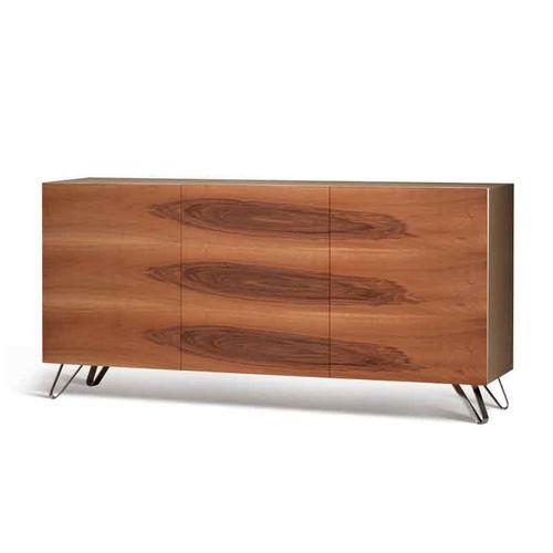 コンテンポラリーサイドボード / クルミ材 / トネリコ材 / 楓材製