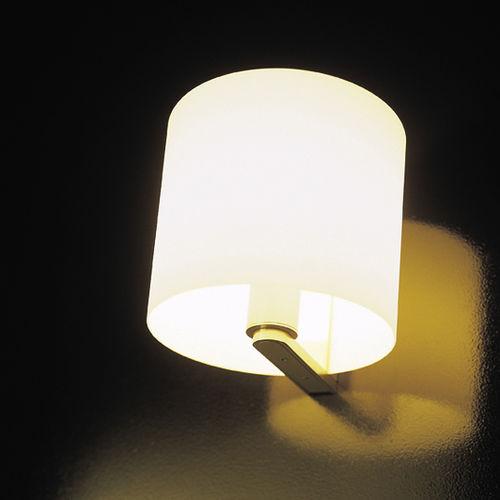 伝統的壁面ライト / 吹きガラス製 / ハロゲン / 円形
