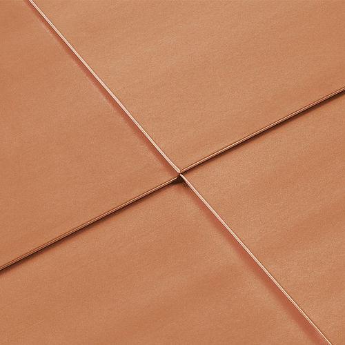 銅製クラッディング / 合金製 / ニス塗装済 / パネル型