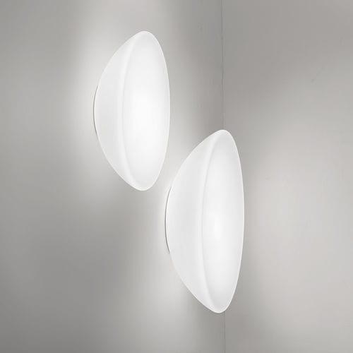 コンテンポラリー壁面ライト / ガラス製 / 白熱 / 円形
