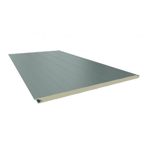 外壁合板パネル / スチール面 / PUR ポリウレタン製芯 / フォーム芯