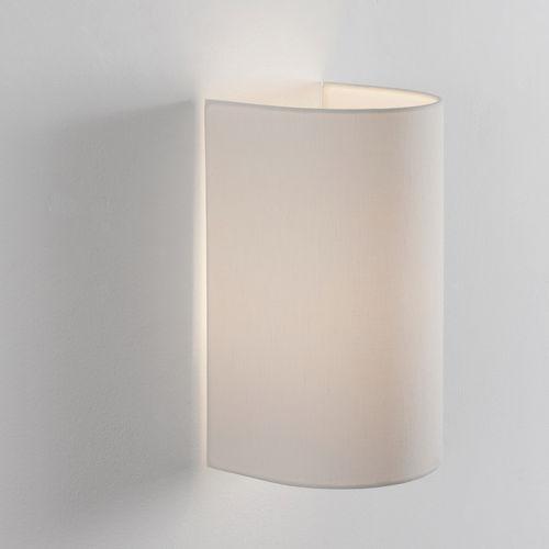 コンテンポラリー壁面ライト / 麻製 / LED / コンパクト蛍光