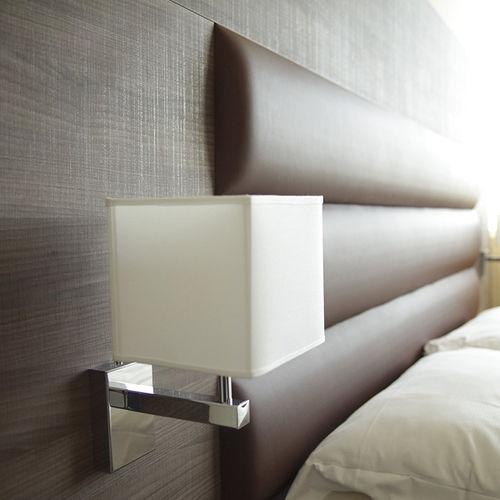 コンテンポラリー壁面ライト / 正方形 / ホテル用 / 白
