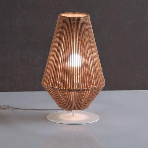 台用ライト / コンテンポラリー / ロープ / 茶色