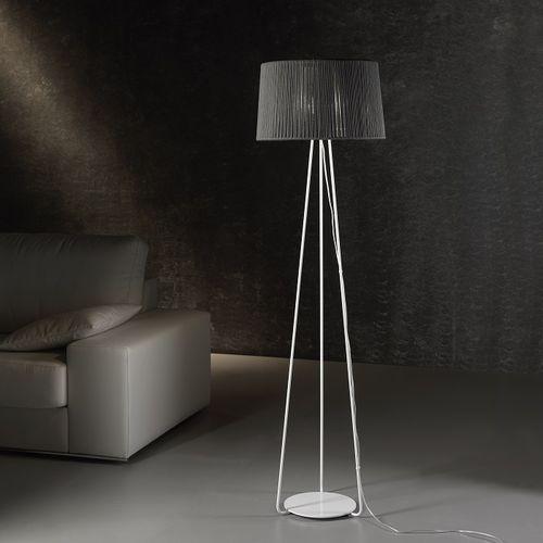 フロアスタンド型ライト / コンテンポラリー / 金属製 / ロープ