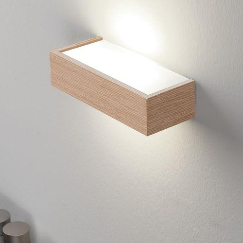 コンテンポラリー壁面ライト / リビング用 / 金属製 / ベニヤ板