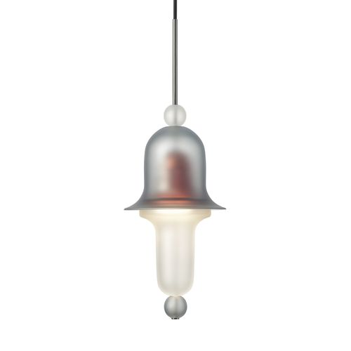 吊り下げライト / 伝統的 / ステンレススチール製 / クリスタル製
