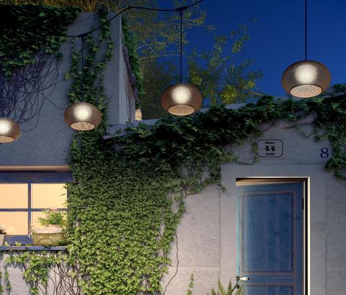 吊り下げライト / コンテンポラリー / アルミ製 / ステンレススチール製