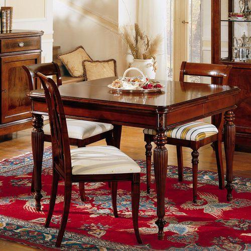 クラシック食卓テーブル / クルミ材 / 桜の木材 / マホガニー製