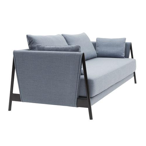 ベッドソファー / コンテンポラリー / 布製 / スチール製