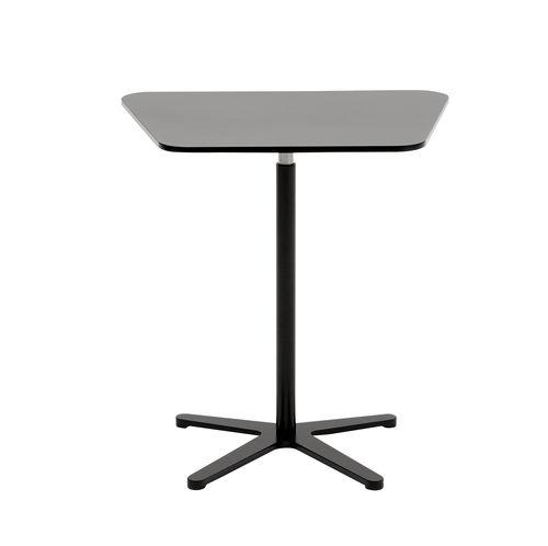 コンテンポラリーサイドテーブル / スチール製 / 円形 / 四角形