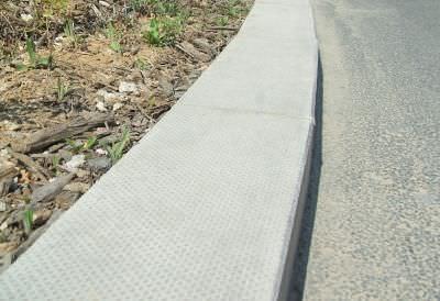 歩道縁石 / コンクリート製 / 長方形
