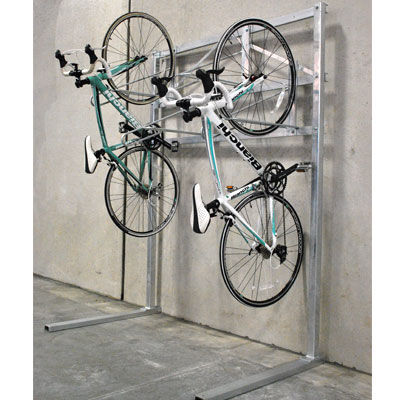 スチール製自転車ラック / 亜鉛めっき鋼製
