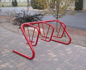 スチール製自転車ラック / 亜鉛めっき鋼製 / 公共スペース用