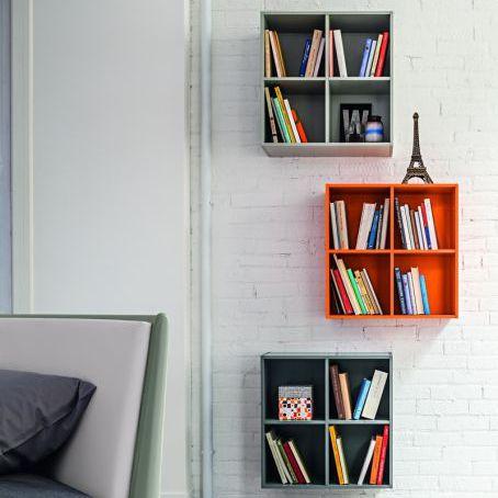 壁取り付け式棚 / コンテンポラリー / 漆木材
