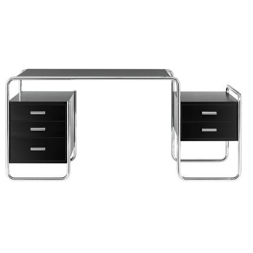 木製デスク / スチール製 / Bauhaus 作 / 業務用